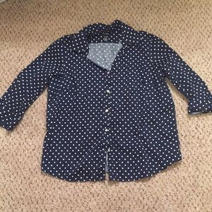 Chaps collared button up